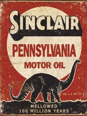 Sinclair Pennsylvania Metal Sign
