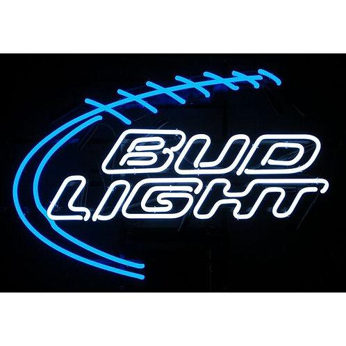 Bud Light Football Neon Sign