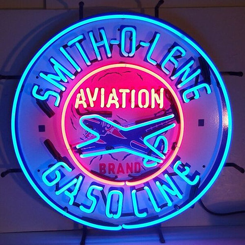 Smith-O-Lene Gas Neon Sign