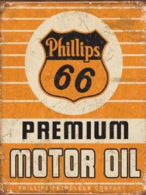 Phillips 66 Premium Metal Sign