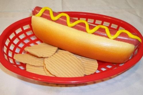 Hot Dog & Chips Basket - BH 700