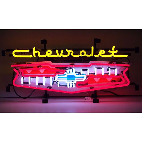 Chevy Grill Neon Sign
