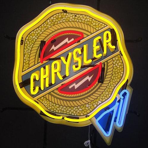 Chrysler Badge Neon Sign
