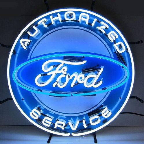Authorized Ford Service Neon Sign