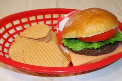 Burger & Chips Basket - BH 600