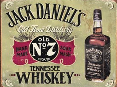 Jack Daniels Old No,7 Metal Sign