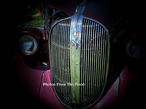 '37 Plymouth Grill