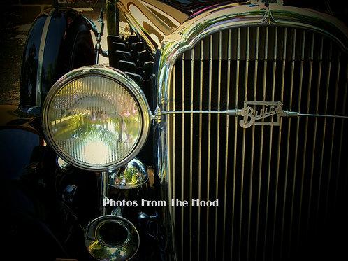 '30's Buick Radiator Shell