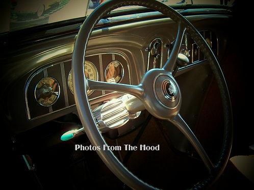 '39 Packard Wheel