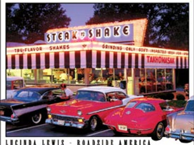 Steak & Shake Drive-In Metal Sign