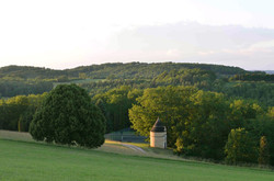 View of Dovecote and Tennis