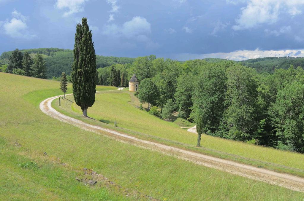 View towards Dovecote