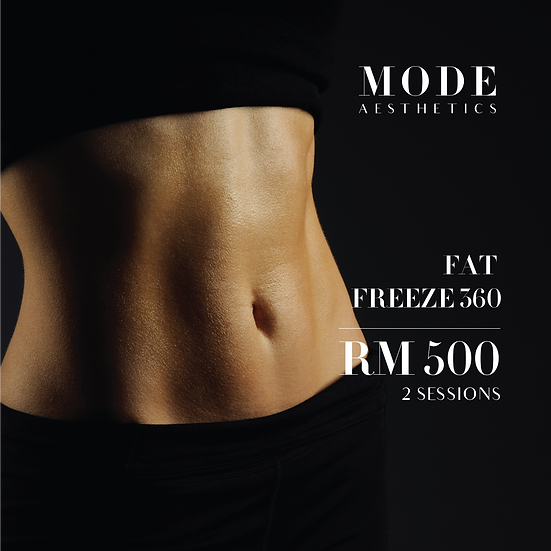 Fat Freeze 360 for 2 sessions