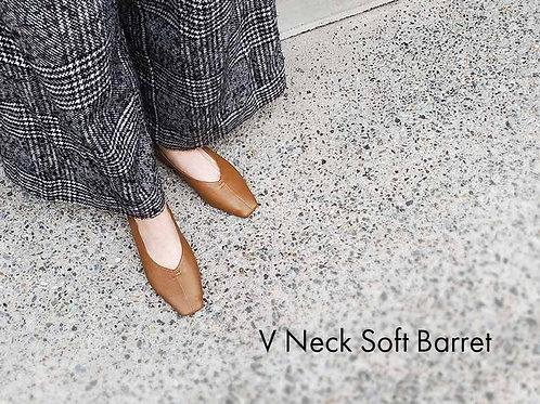 V Neck Soft Barret 予約販売