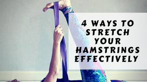 4 ways to stretch your hamstrings effectively