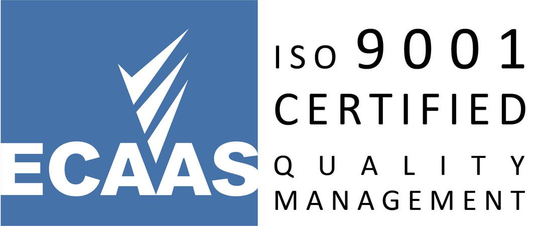 ECAAS Certification Mark - 9001 v3 Lands