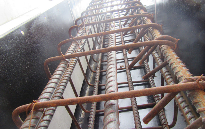 RC Column Steel