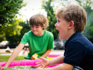 What are the benefits of backyard games?