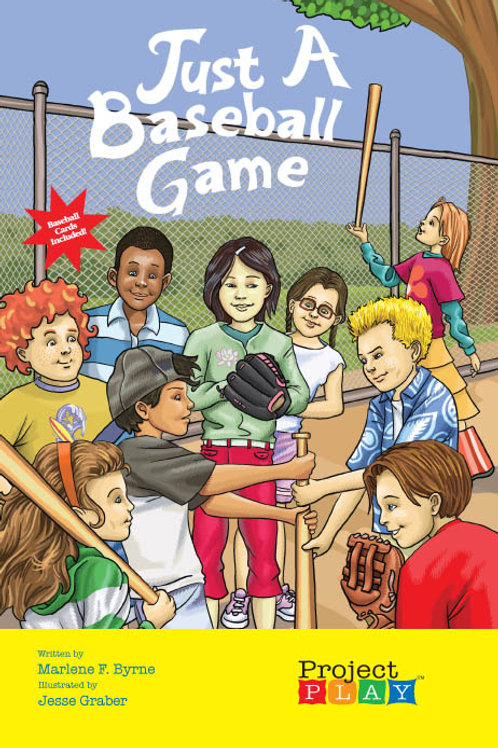 Just a Baseball Game by Project Play - Hardcover