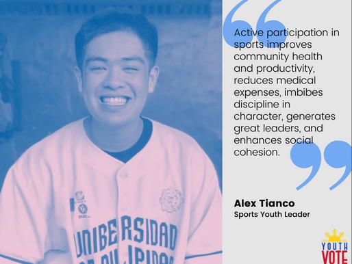 Alex Tianco: Gusto Kong Bumoto Para Sa Mga Atleta