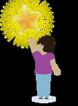 ילד עם כוכב
