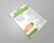 עיצוב גרפי לפלייר לשירות הפסיכלוגי