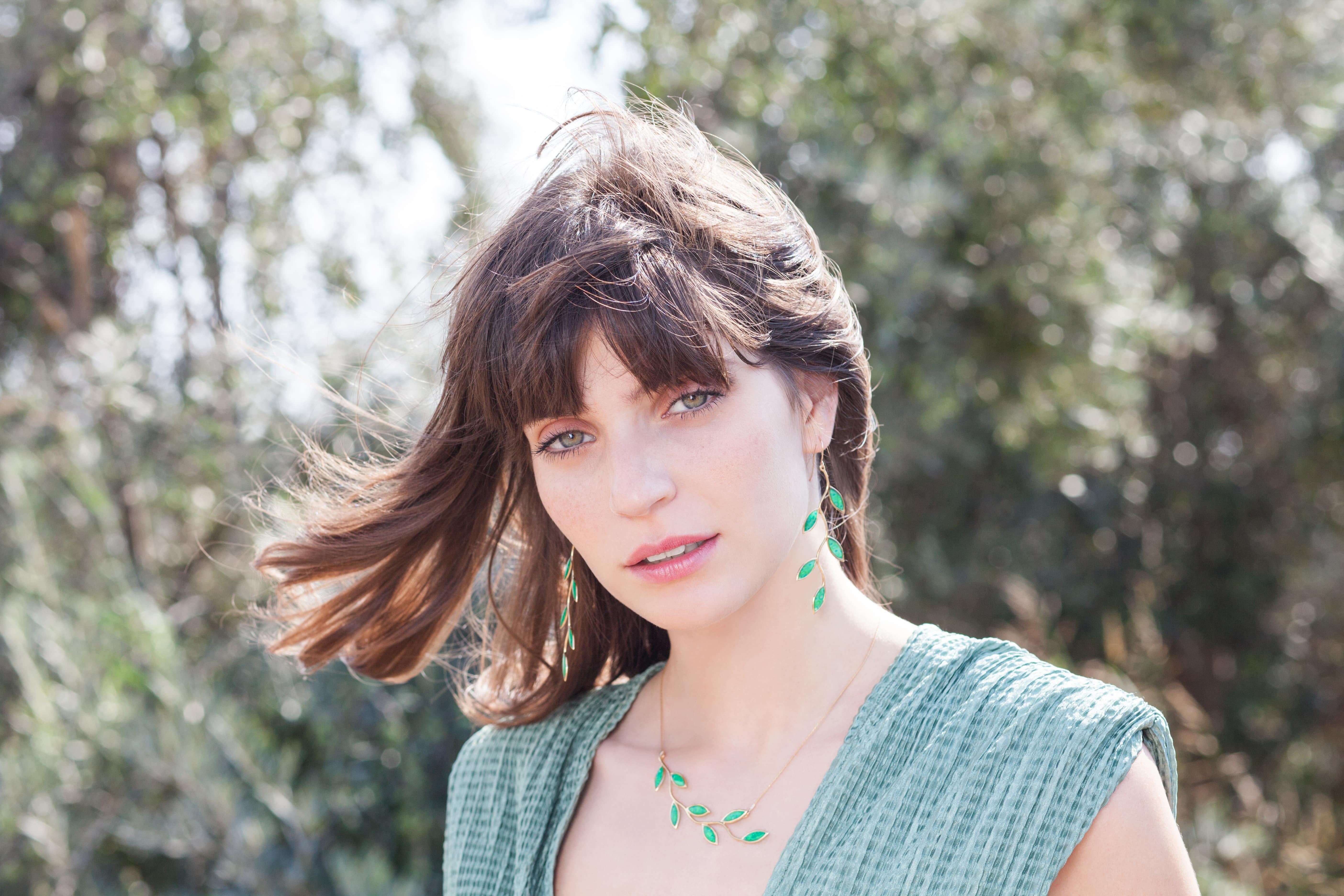 long olive leaf set-vermeil-jade-min