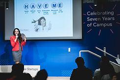 מרינה סמוליאנוב הרצאה בכנס גוגל