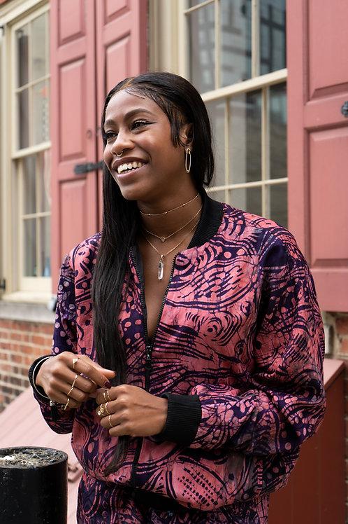 Handmade Batik Unisex Timilehin Track Suit