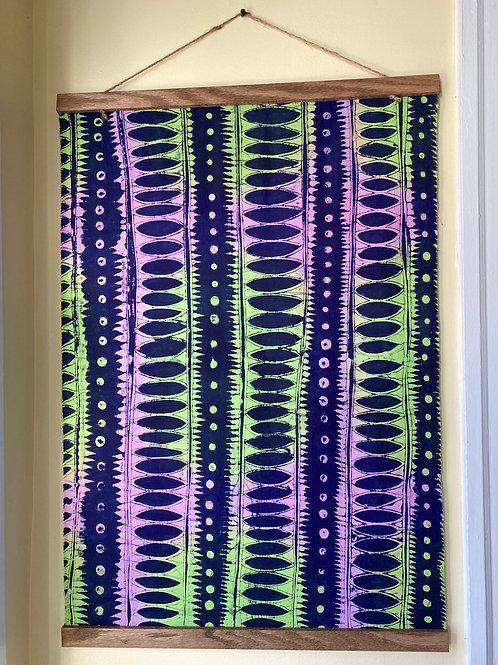 Handmade Pre-Dyed Batik Tapestry