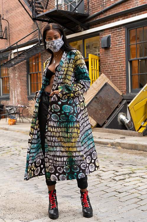 Handmade Batik Unisex Royeke Kimono