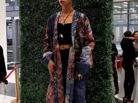 RUK Unisex Kimono Display at PFW 2020