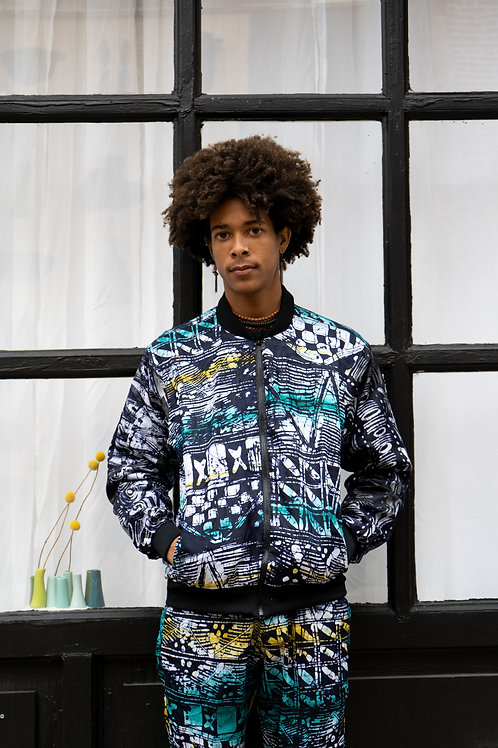 Handmade Batik Unisex Busayo Track Suit