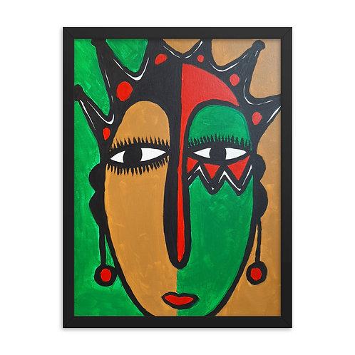Olorì (Queen) Framed Poster