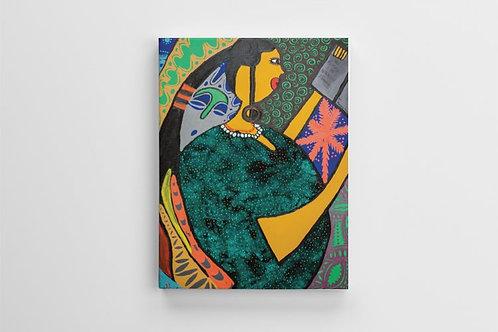 "Ile Aye (World) Canvas Print - 12"" x 16"""