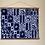 Thumbnail: Handmade One Color Batik Tapestry (Original)