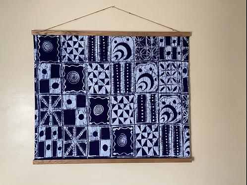 Handmade One Color Batik Tapestry (Original)
