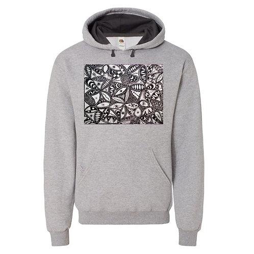 Orisun (Root) Unisex Hooded Pullover Sweatshirt