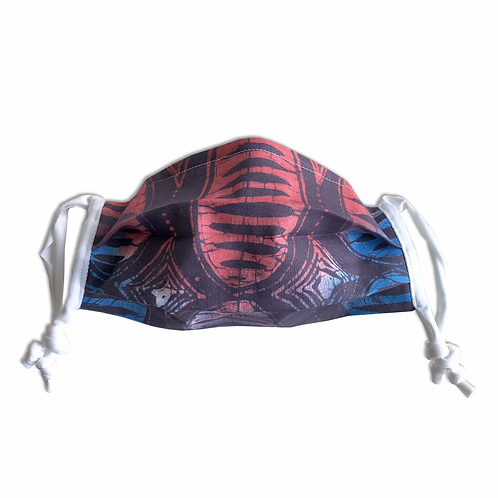 Adult-size Ina (Fire) Mask with Lycra ties