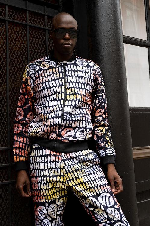 Handmade Batik Unisex Pelumi Track Suit