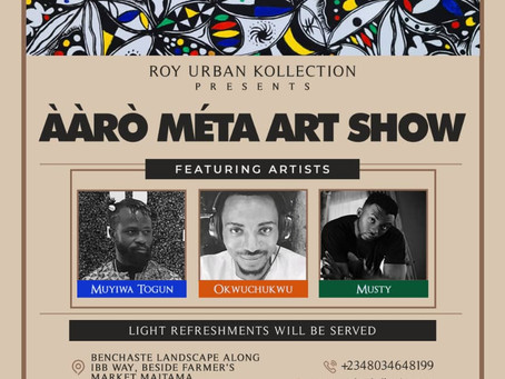 Upcoming Event!!! Aaro Meta Art Show On 10th & 11th Of April, 2021.