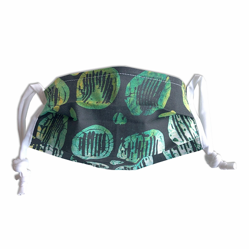 Adult-size Ojo (rain) Mask with Lycra ties