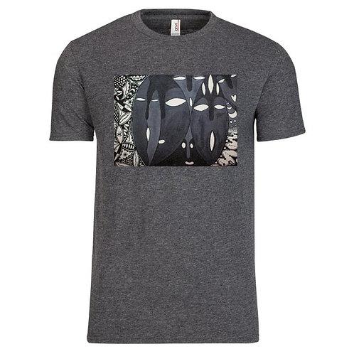 Iboju (Mask) Men's Premium T-shirt: Classic, Full Color