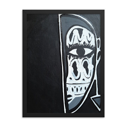 Òsèré (Performer) Framed Poster
