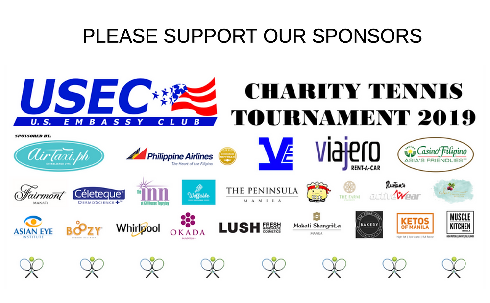 2019 USEC Tennis Tournament Sponsors