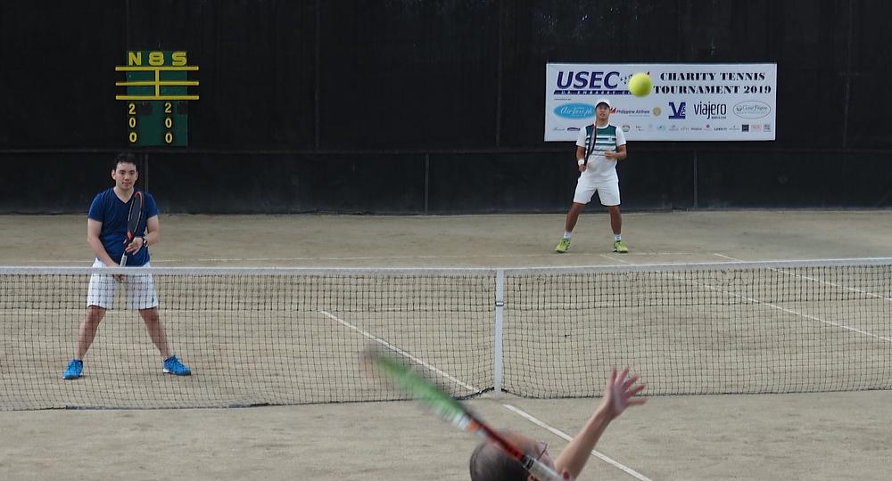 USEC 2019 Charity Tennis Tournament Men's Doubles Champions