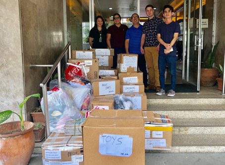 Donation Drop-off at Philippine American Guardian Association
