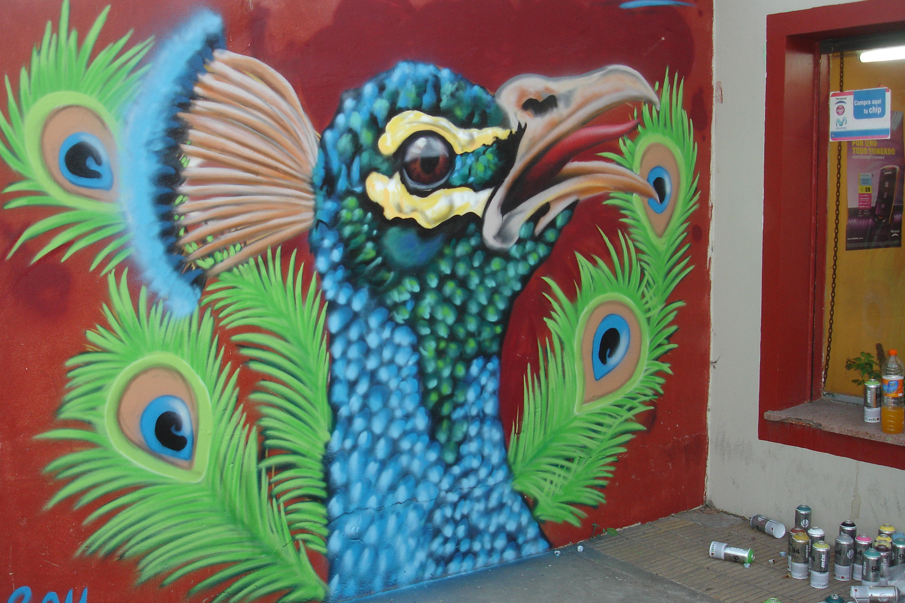 murales graff grafyttis arte urbanocallejero pintura  webab