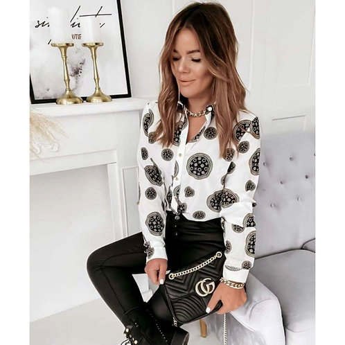 Blouse Gaby blanche