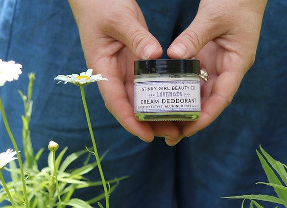 Lavender Cream Deodorant